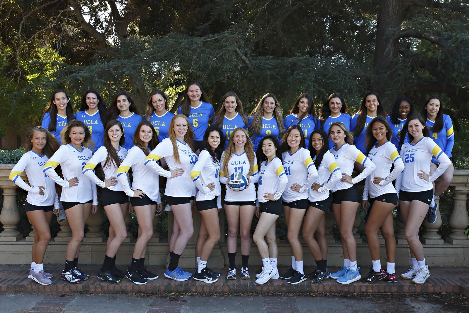 2018 19 Women S Volleyball Roster Ucla Club Sports